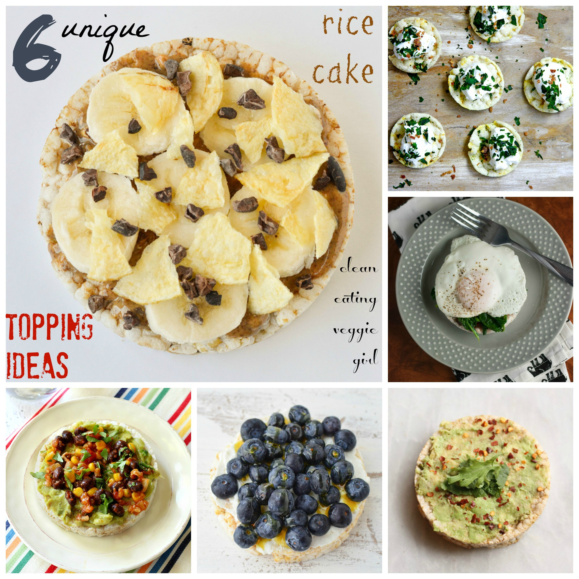 6 Unique Rice Cake Topping Ideas
