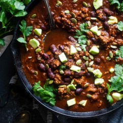 Kitchen Crock Game Gluten-free Chili Soup Recipes - Clean Eating Veggie Girl