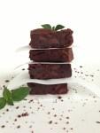 Triple Chocolate Mint Brownies