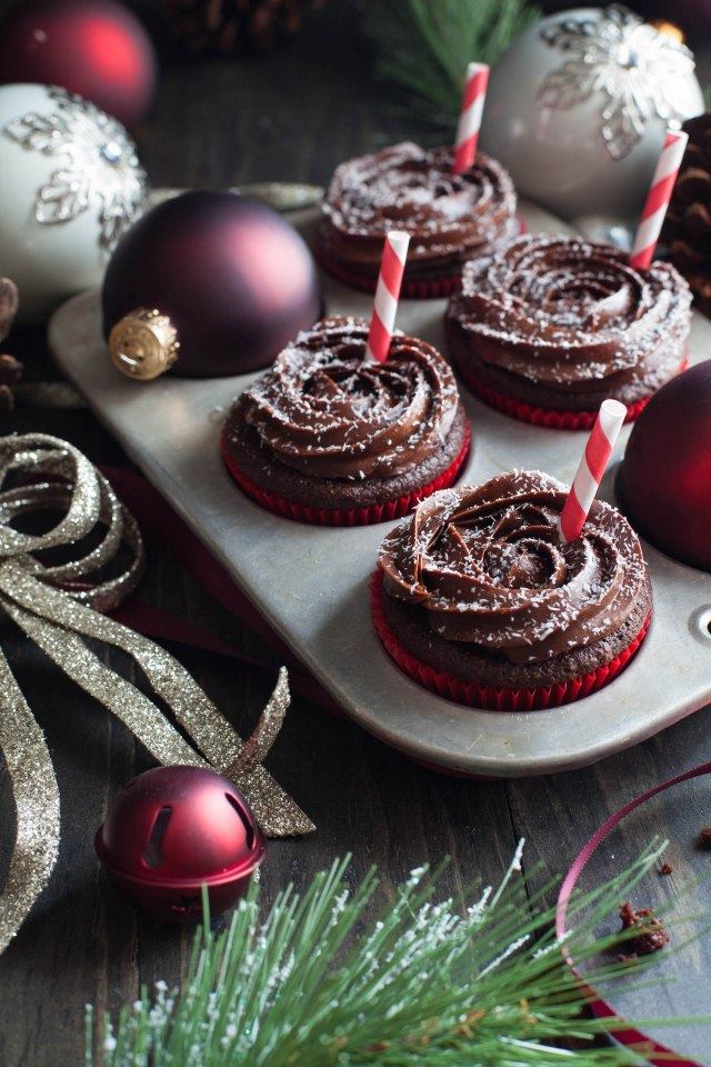 Peppermint Mocha Cupcakes 4