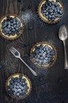 Paleo Blueberry Lemon Tartlets