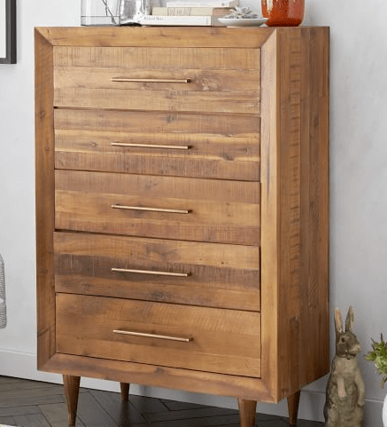 West Elm Inspired Nighstand