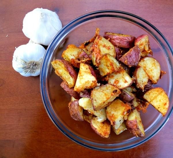 Parmesan Roasted Red Skin Potatoes