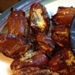 Grilled Blue Cheese Dates