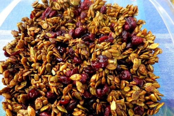 Pumpkin Cranberry Crunch