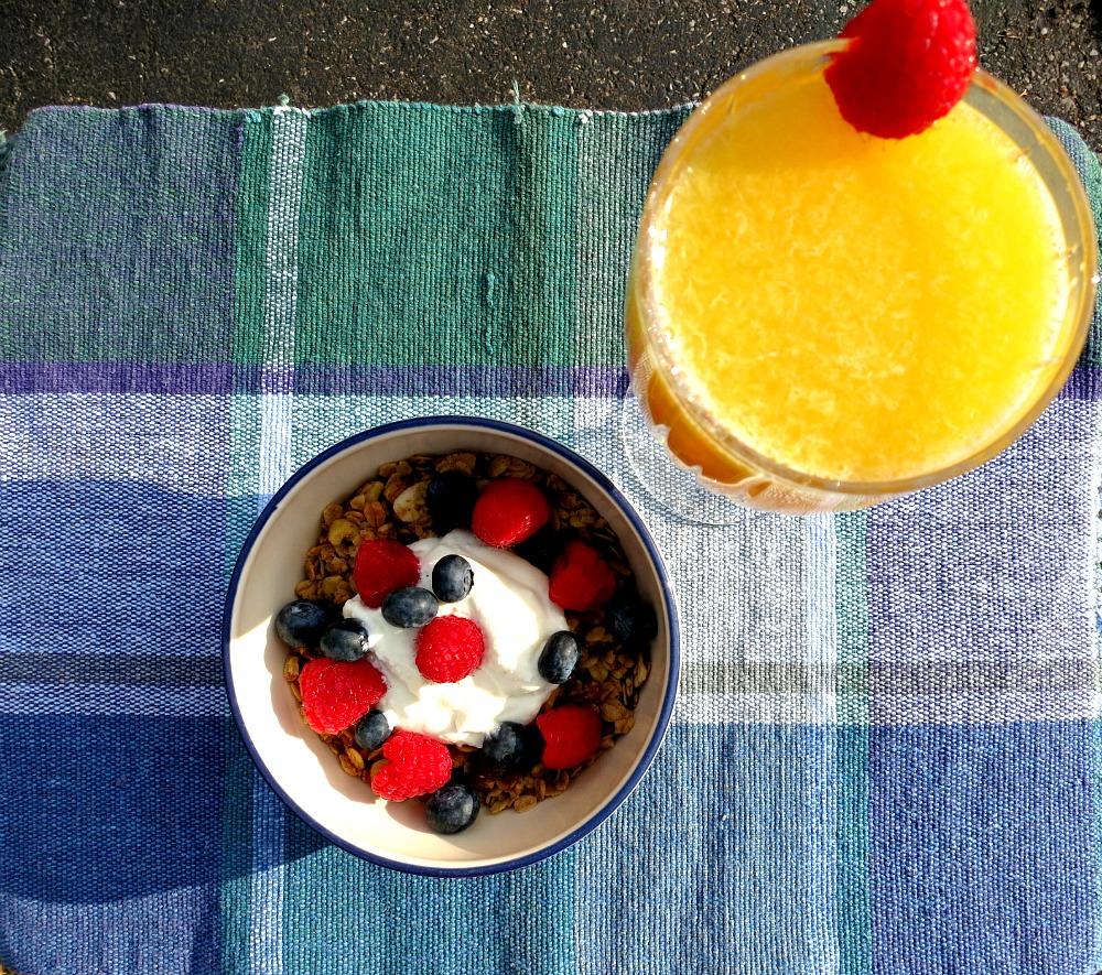 Granola and Mimosa