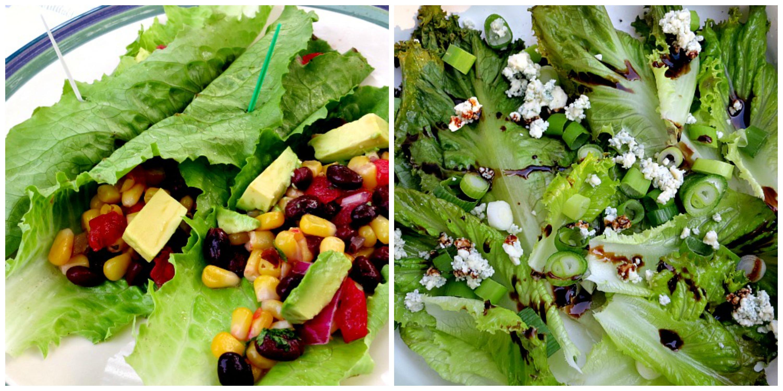 Lettuce Collage 2