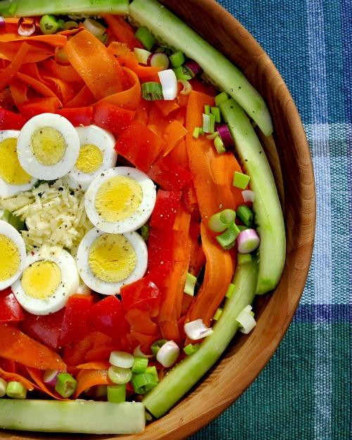 Circle Salad