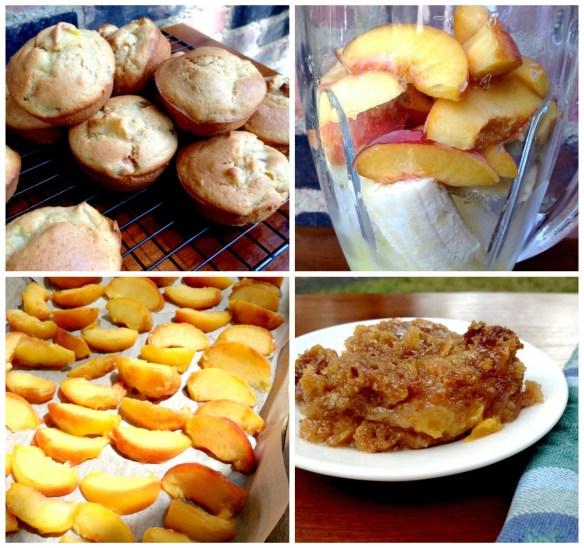 Peach Collage