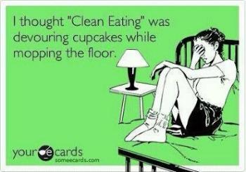 clean the floor eating m