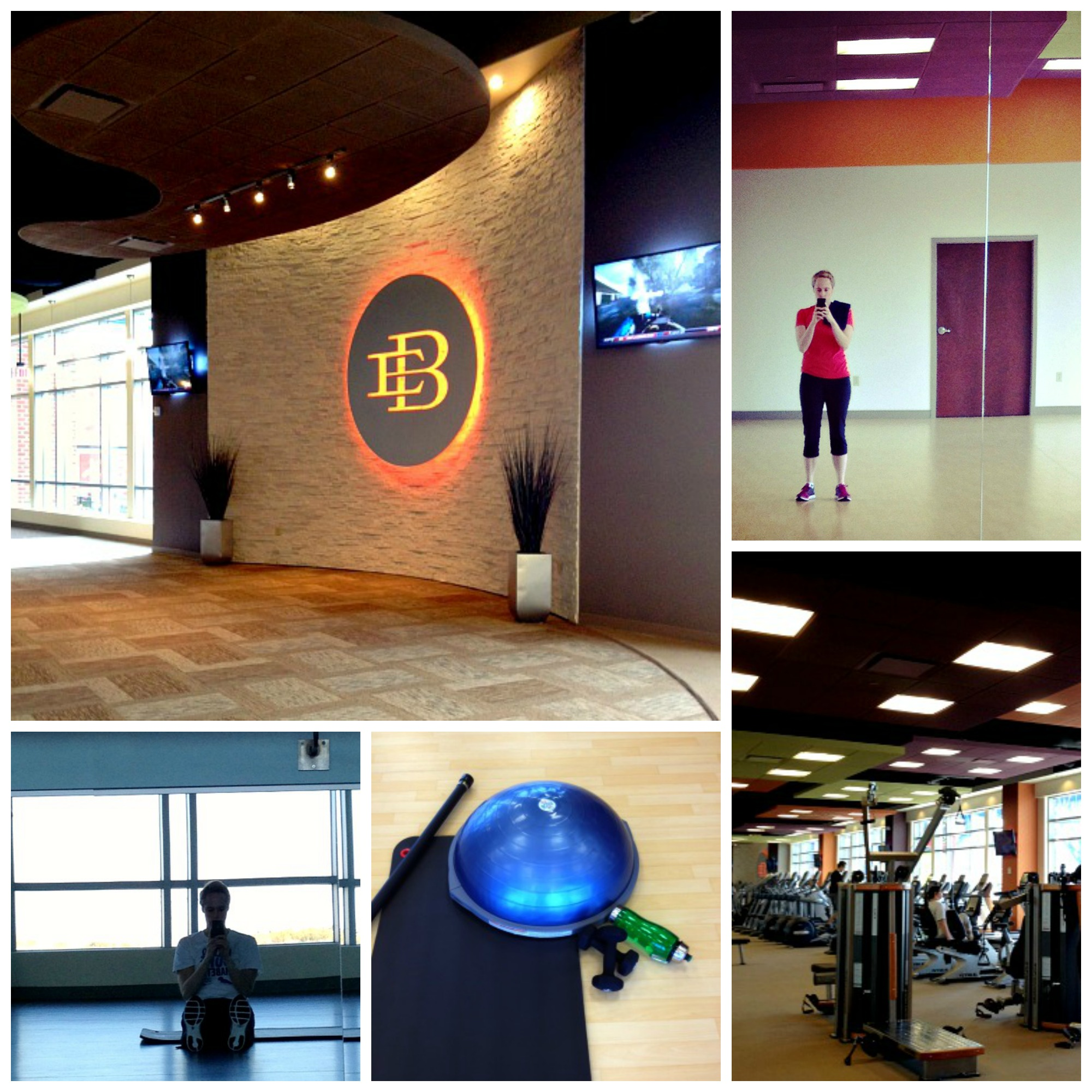 Meg East Bank Gym Collage
