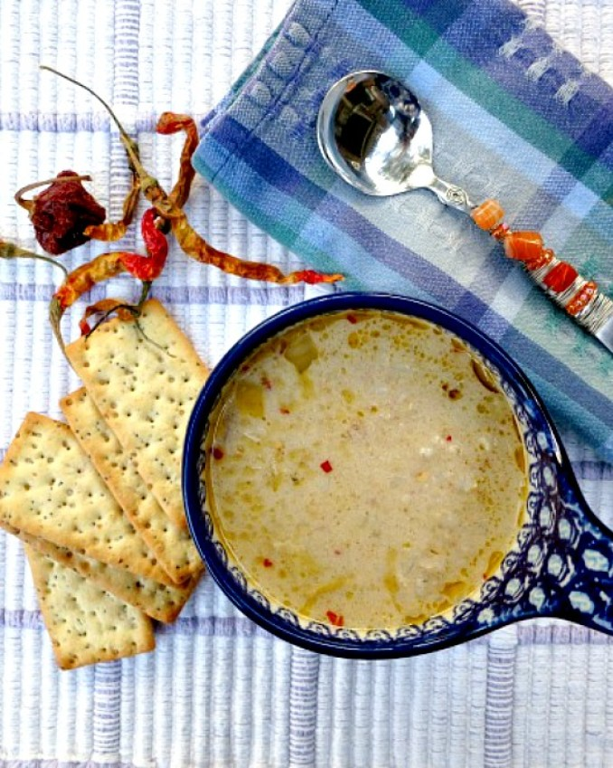 If you love artichokes, this soup is for you. Stuffed with Brown Rice and Asiago Cheese, it packs a flavor punch.