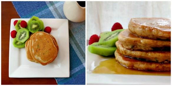Zucchini Bread Pancakes Collage