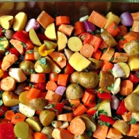 Recipe: Easy Oven Roasted Vegetables