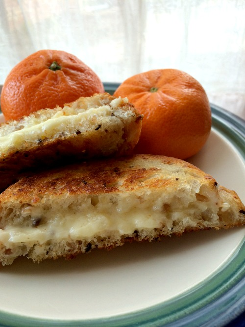 Grilled Cheese & Clementines