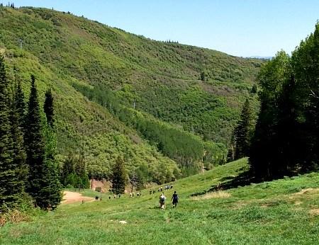 Blend 2014 Retreat Hiking