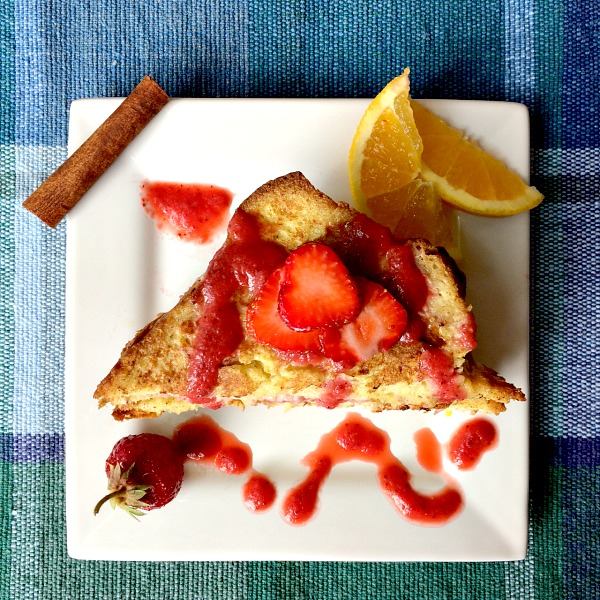 Lightened Up French Toast B