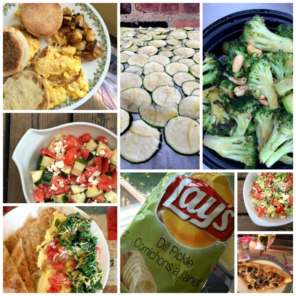 July 2014 Eats Collage