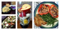 WIAW Monday Eats Collage