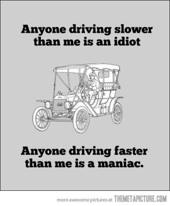 Driving Slower