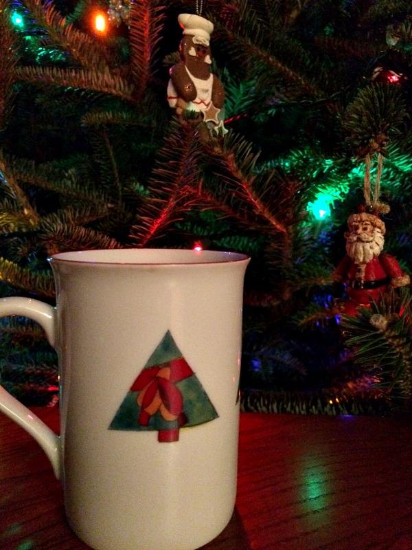 Holiday Mug and Tree