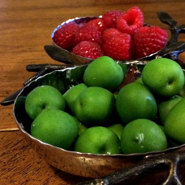 Olives and Raspberries