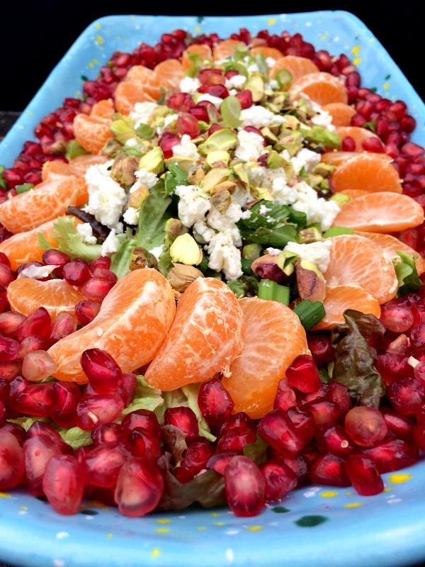 Pomegranate Citrus Salad C