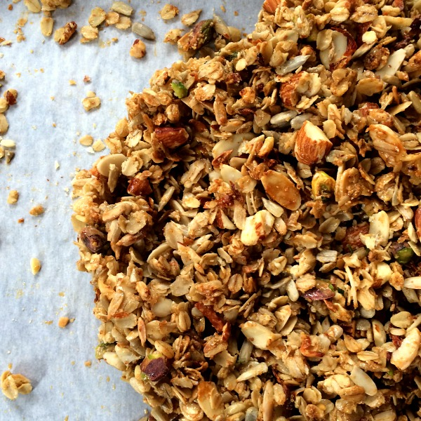Parmesan Rosemary Savory Granola