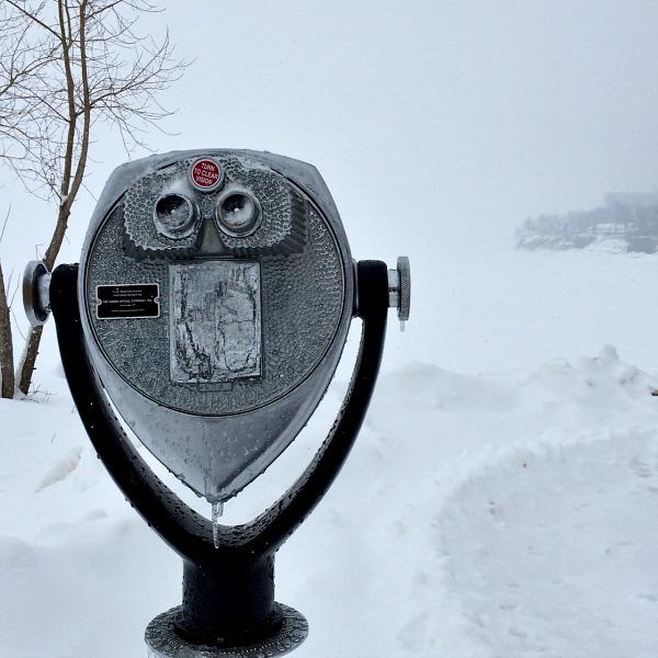 Lakewood Park Overlook Snow