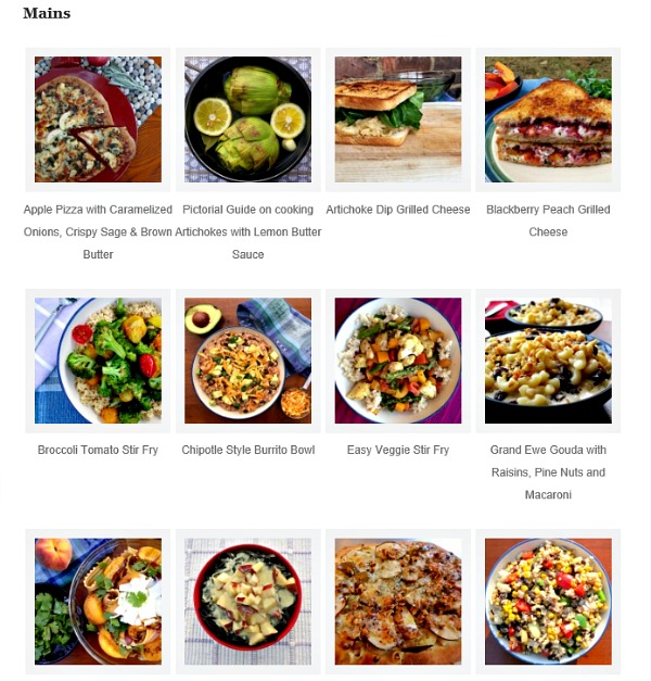 Clean Eats Fast Feets Recipe Index