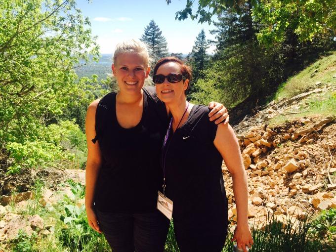 Carly and Meg Blend 2015 Hike