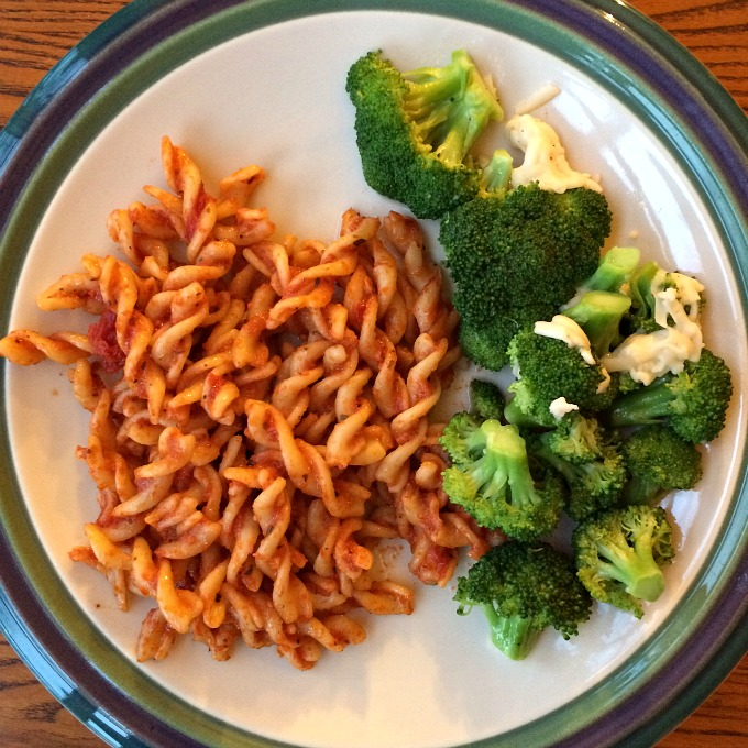 Pasta and Broccoli with Asiago