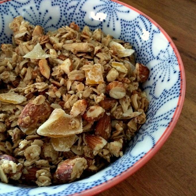 Almond Mango Granola E