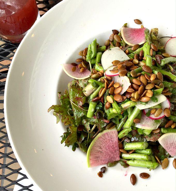 Asparagus Power Salad Forage Public House
