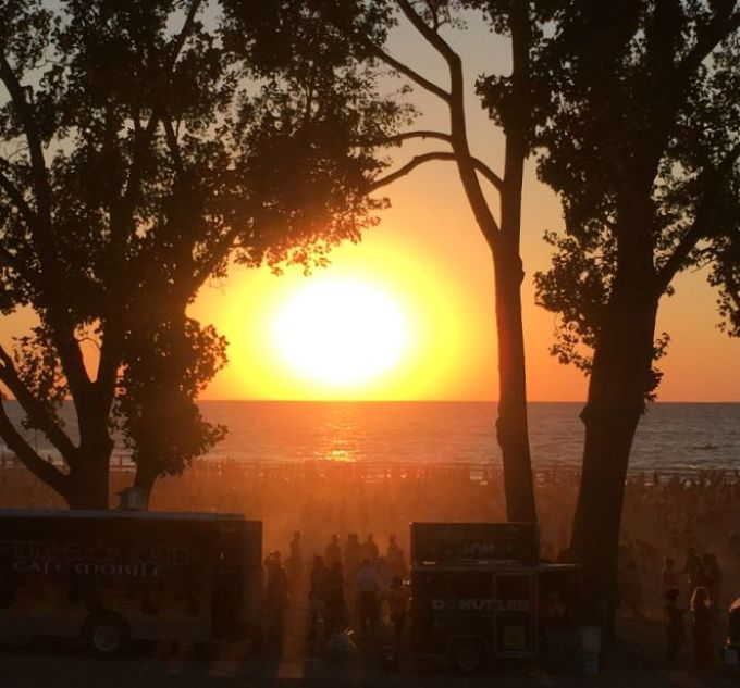 Summer Sunsets at Edgewater Live