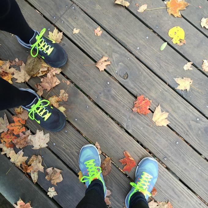 Amanda Spoons and Meg Sneakers