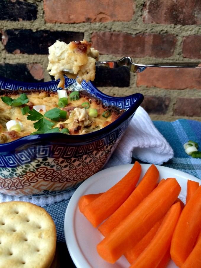 Artichoke & Cheese White Bean Dip F