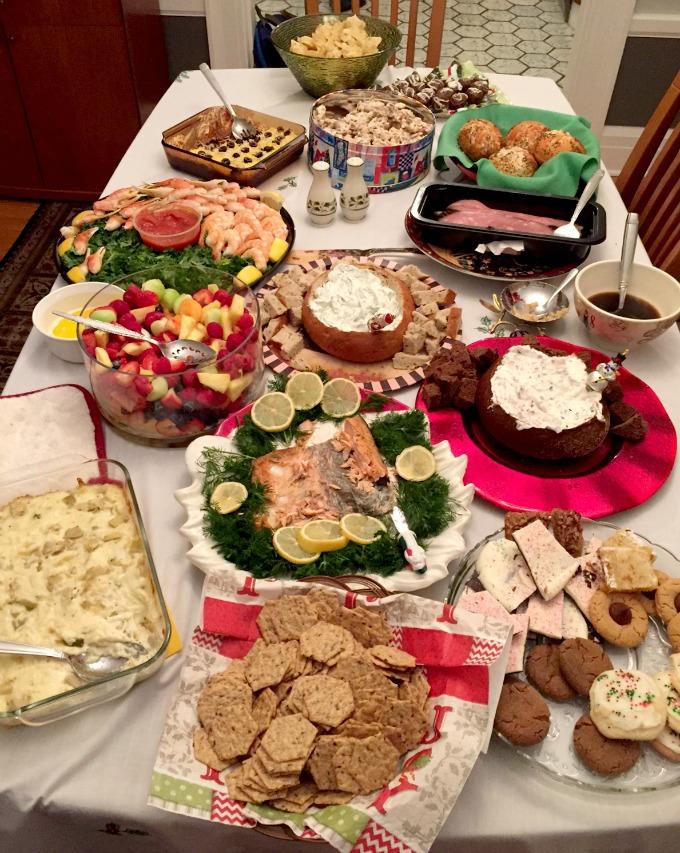 Christmas Eve Dinner 2015