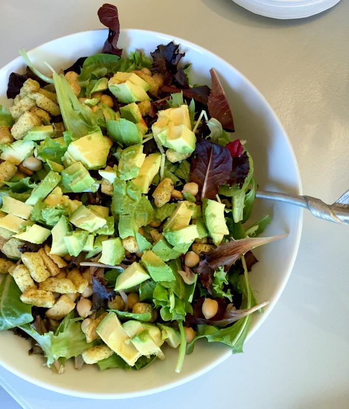 Christmas Eve Lunch 2015 Avocado Salad