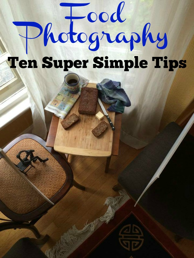 Food Photography: Ten Super Simple Tips for getting the best and tastiest pictures without breaking the bank or taxing your brain.