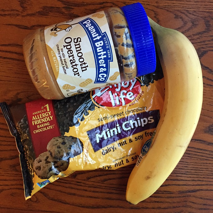 Peanut Butter, Chocolate Chips and Banana