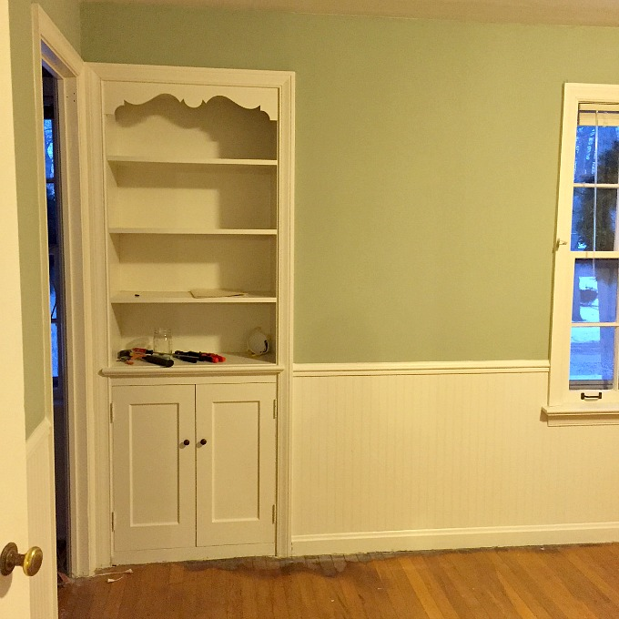 Office Turned Guest Bedroom Home Renovation 3