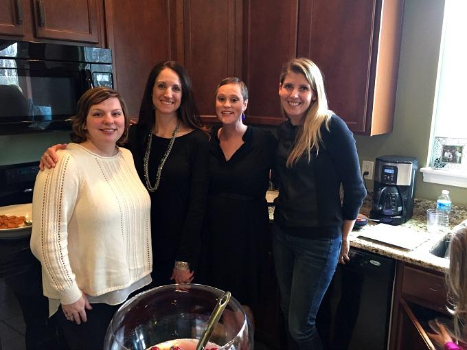 Nichole, Heather, Meg and Emily - Baby Shower