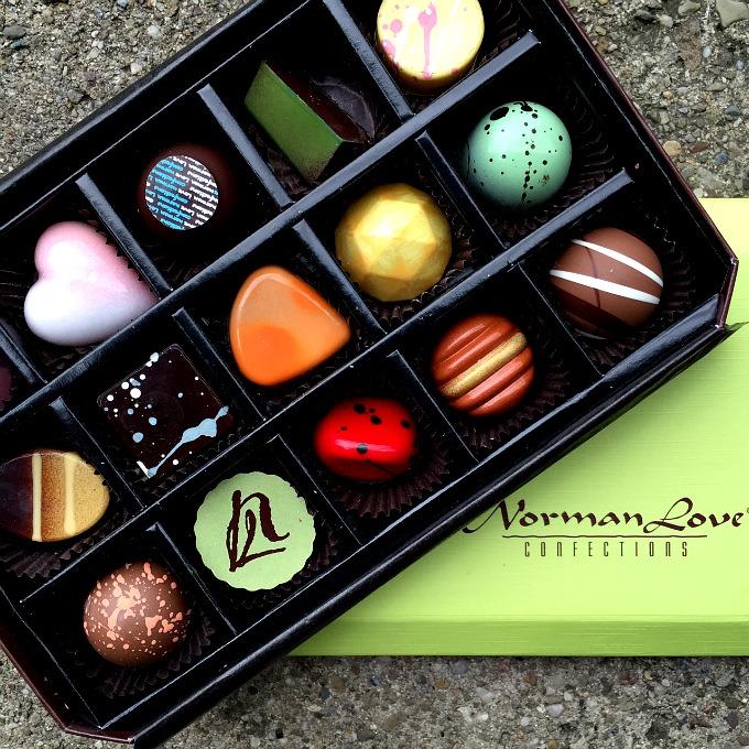 Normal Love Fancy Chocolates