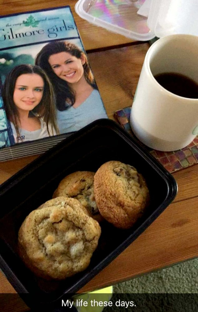 Gilmore Girls, Coffee and Chocolate Chip Cookies