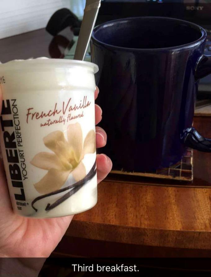 Liberte French Vanilla Yogurt