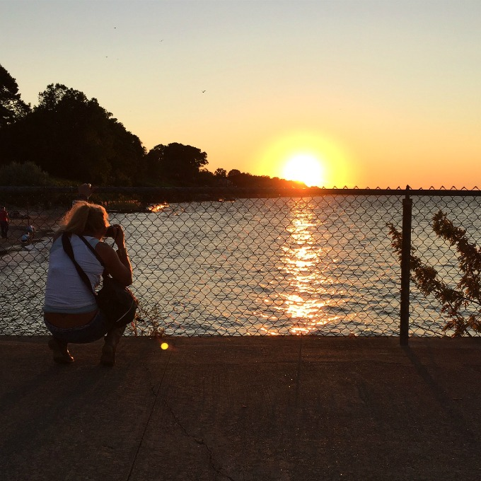 Lucie Sunset Summer 2015 Cleveland