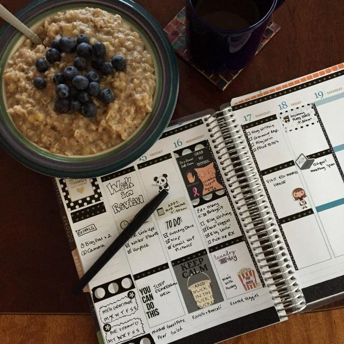 oatmeal-coffee-planner