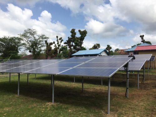 Project Bo: Saving lives in Sierra Leone with Solar, Batteries and Twitter
