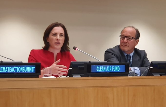 Health care commits to act on climate and clean air at UN Climate Action Summit
